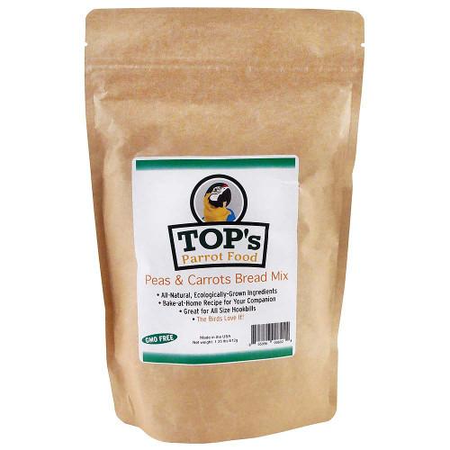 TOP'S Premium Birdie Bread Mix - Peas & Carrots - 1.36lb