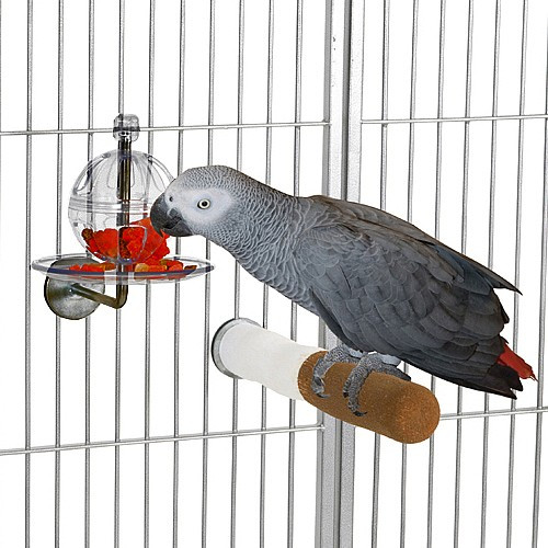 Buffet Ball with Cage Mount - Tough Foraging Toy