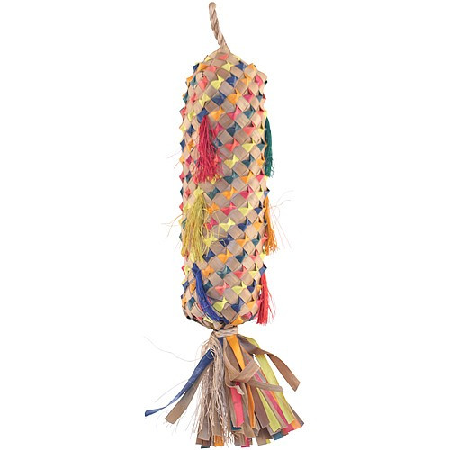 Coloured Pinata Spiked - Medium Parrot Toy