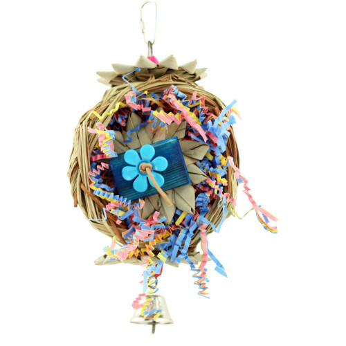 Beakwich - Natural Chewable Foraging Parrot Toy