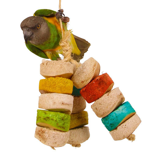 Bird Kabob - Chiquito Large - Natural Chew Toy for Parrots