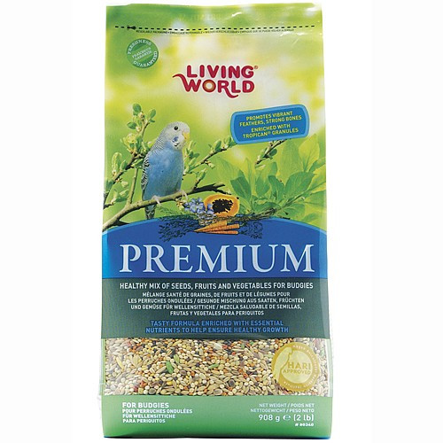 Hagen Living World Budgie Premium Seed Food 908g