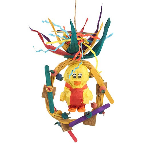 Forage Friends Ducky - Chewable Foraging Parrot Toy