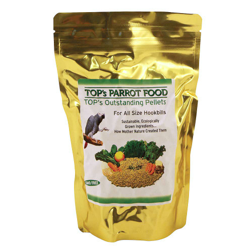 TOP`s Outstanding Pellets Natural Parrot Food - Large
