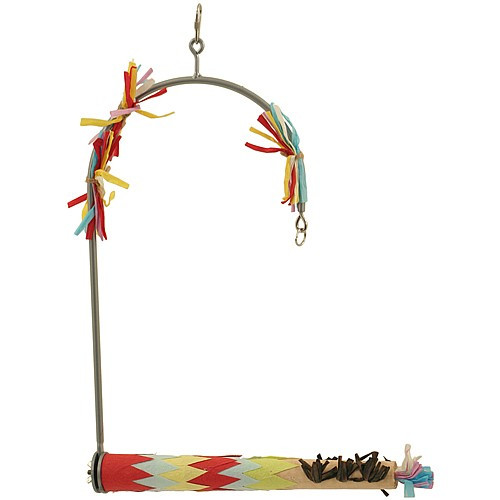 Forage `N` Play Swing Toy for Medium Parrots