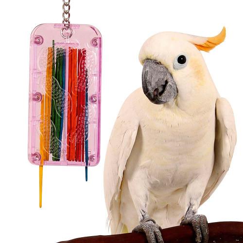 Drop Stix Enrichment Reward Parrot Toy