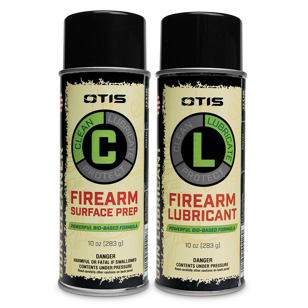 Firearm Surface Prep & Firearm Lubricant 2 Pack