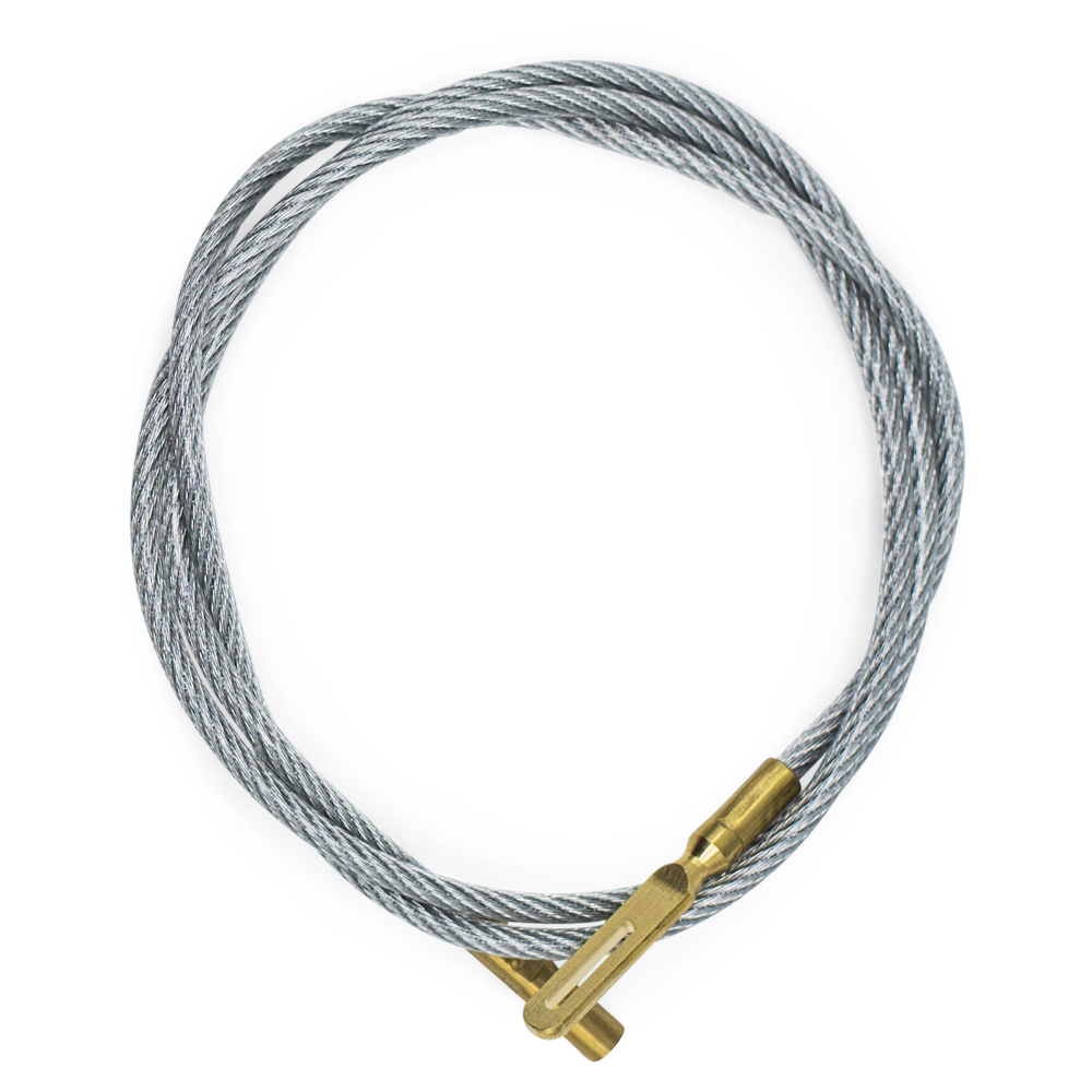 """30"""" Cleaning Cable with Small Caliber Tip"""