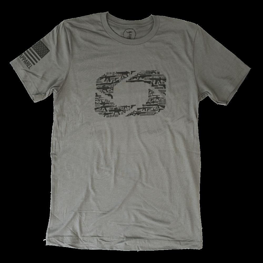 "Otis Nine Line ""O"" T-Shirt"