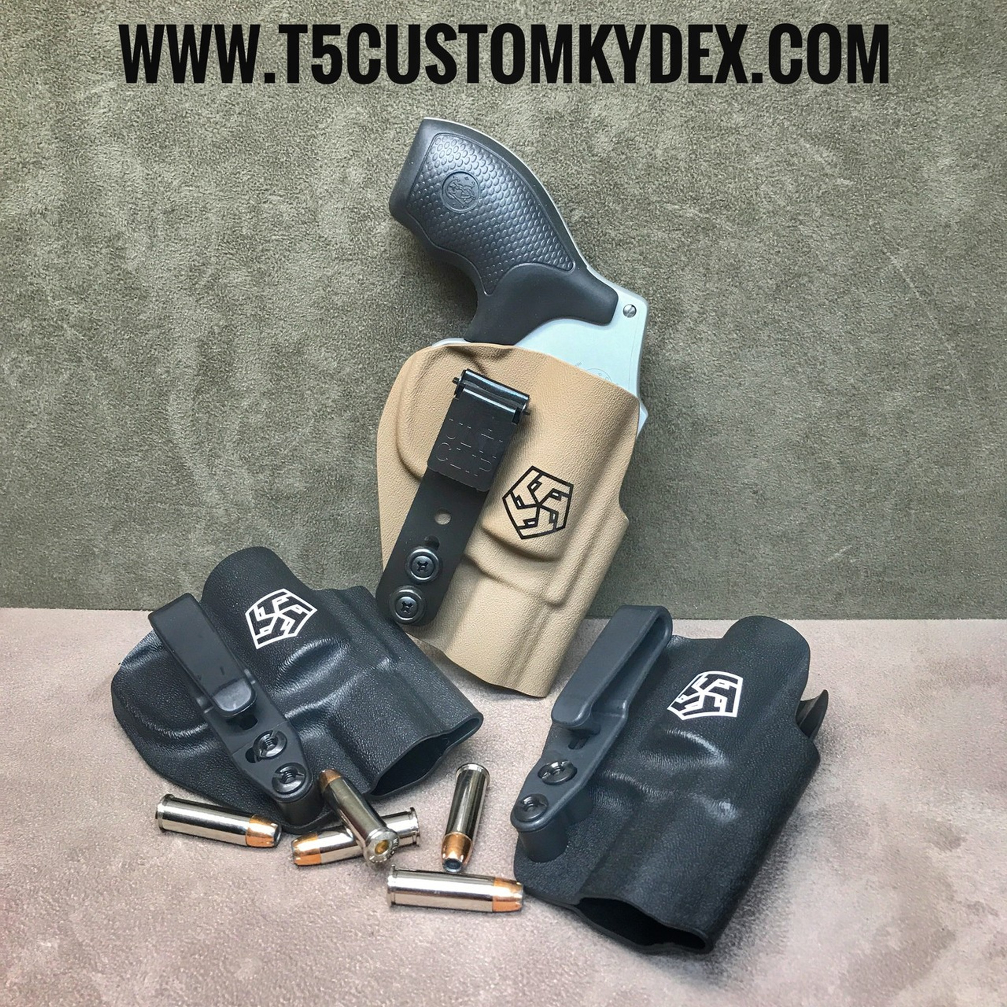 S&W J-Frame Quick Ship IWB - T5 Custom Kydex