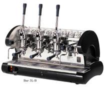 La Pavoni BAR 3L-B, 3 group lever Black - Commercial Espresso Machine