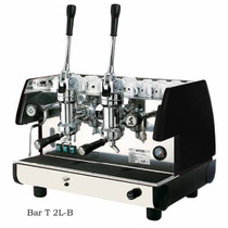 La Pavoni BAR T 2L-B Commercial Espresso Machine, 2 Group lever, Black or Red