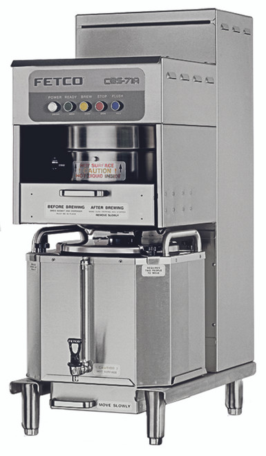 Fetco CBS-71A 6 Gallon Single Stationary Coffee Brewer