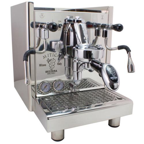 Bezzera Mitica PID Commercial Espresso Machine – switchable tank / direct connect – V2