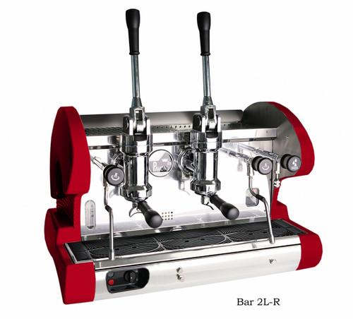 La Pavoni BAR L Espresso Machine - 2 or 3 Group, Lever, Black or Red