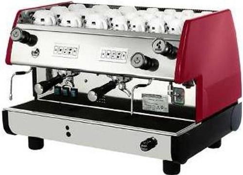 La Pavoni BAR-T V Commercial Espresso Machine - 2 or 3 Group, Red or Black
