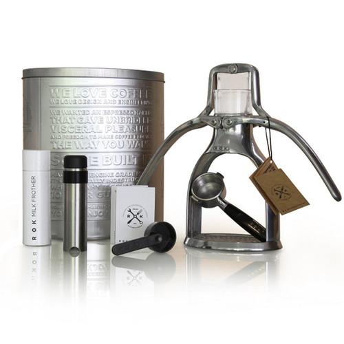 ROK Espresso Maker - Hand Powered Espresso Machine