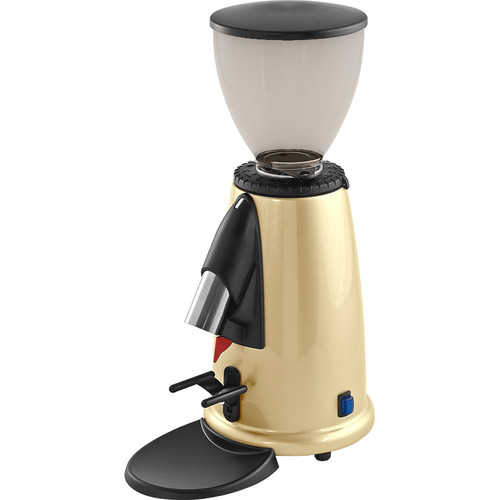 Macap M2MC82 Espresso Grinder - doserless, BRASS, stepped, manual
