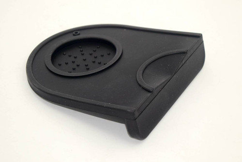 Caffe Arts™ Compact Edge Tamping Mat with Tamper Holder - Black