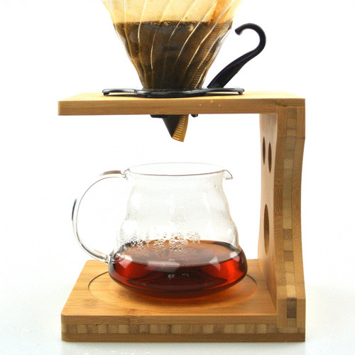 Caffe Arts™ Bamboo Pour Over Stand - ESD12