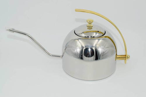 Caffe Arts™ Stainless Steel Pour Over Gooseneck Kettle - ESBH43