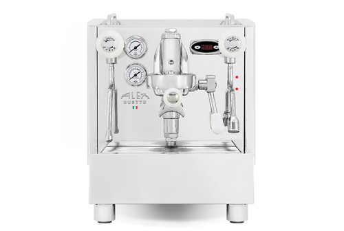 Izzo Alex Duetto 4 Espresso Machine - White Accents