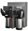 Fetco Twin Station CBS-2132XTS Touchscreen Series Airpot Coffee Brewer