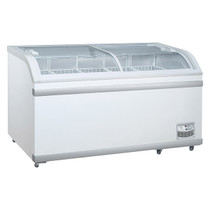 WD-500 Sliding Glass Lid Chest Freezer 500 Litre