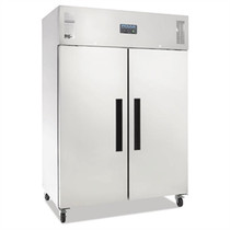 Polar 2 Door Upright Fridge 1200Ltr White