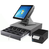 "Commercial POS System Touchscreen Retail Express 15"" J2 680"