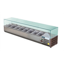 Polar Refrigerated Servery Topper 1800mm