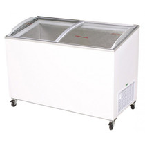 Bromic - Chest Freezer 352L AngleTop/Curved Glass - CF0400ATCG