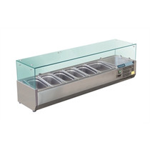 Polar Refrigerated Servery Topper 1500mm GD876-A