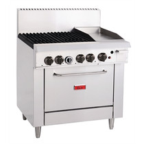 Thor 4 Burner LPG Oven and 305mm Grill GH102-P