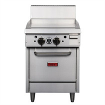 Thor 24in Freestanding Oven Range With Griddle Natural Gas GE542-N