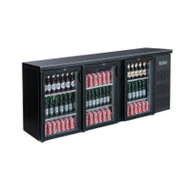 BC3100G Three Door Drink Cooler
