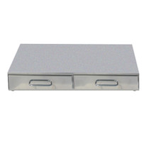 CA0700C2 Bezzera Double Drawer Knock Box