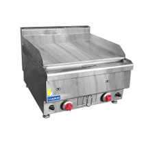 JUS-TRG60 GASMAX Benchtop 2 Burner Griddle 600mm