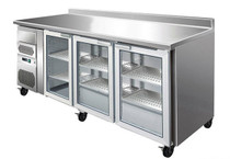 CM20G TROPICALISED Three Door Bar Fridge