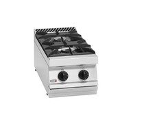 Fagor 700 Series Natural Gas 2 Burner Boiling Top with Cast CG7-20H