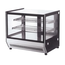 Counter Top Square Glass Cold Food Display 660x530x730 - GN-660RT