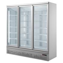 Triple Glass Door Colourbond Upright Drink Fridge Bottom Mounted - LG-1500GBM