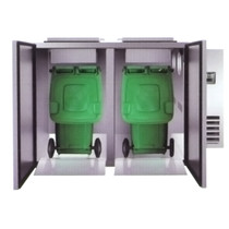 REFRIGERATED SOLID WASTER COOLER WITH 2PCS - WBC2-240