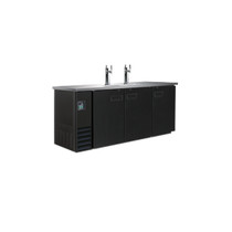 Triple Door Underbar Direct Draw Dispenser 3-Barrel - UBD-3