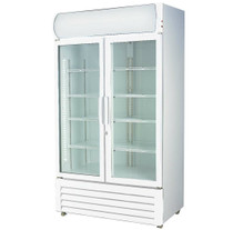Double Glass Door Colourbond Upright Drink Fridge 580 Litre LG-580GE