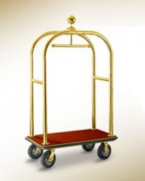 Wagen Bellboy Trolley 3 Star Medium Gold (HOS-101-BBVB)