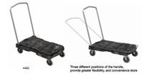 "Trust Utility Trolley Folding Handle 3"" castors (PLT-119-4481)"