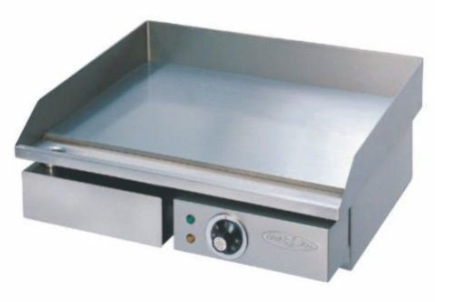 55cm Commercial Stainless Steel Electric Grill Griddle 10amp