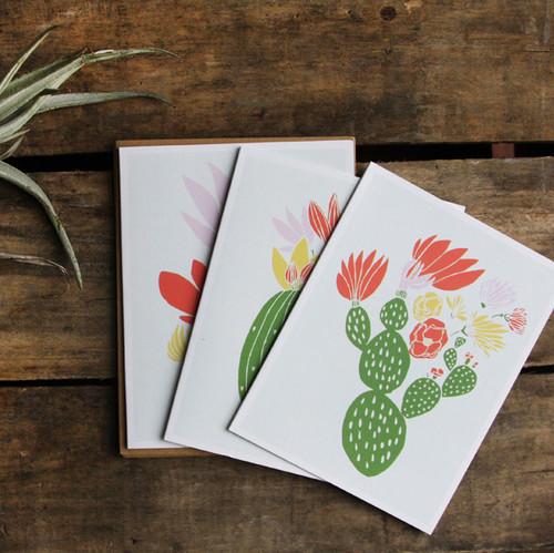 Cactus Card Set