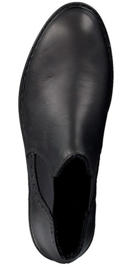 CHELSEA SHOE BROGUE ANKLE BLACK (7758402)